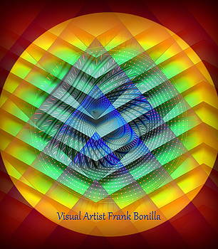 Red Sun by Visual Artist  Frank Bonilla