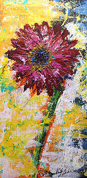Red Sunflower by Kristye Addison Dudley