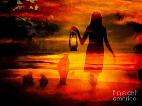 Algirdas Lukas - Red Sunset