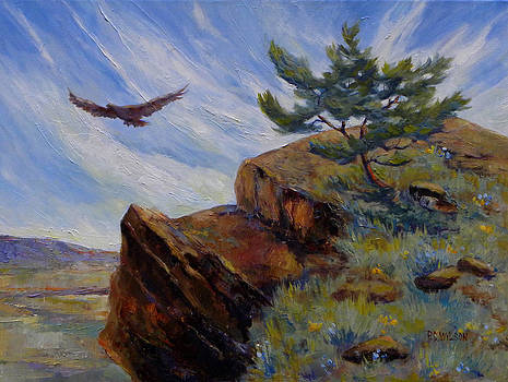 Peggy Wilson - Red Tail Hawk