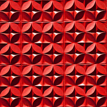 Art Block Collections - Red Textured Wall