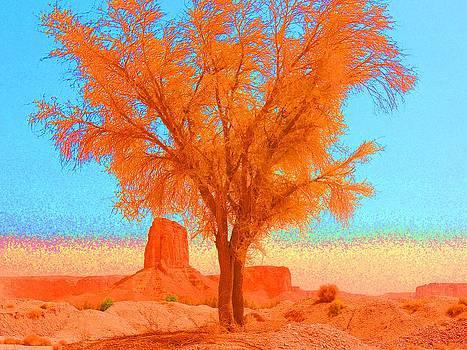 Red Tree by Heather Gordon