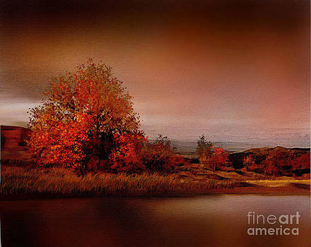 Red Tree River by Robert Foster