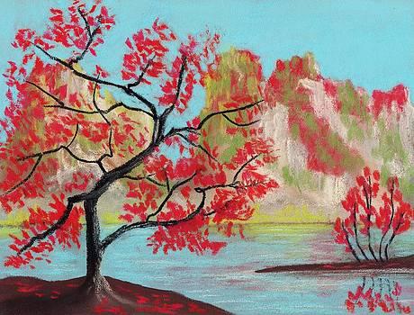 Anastasiya Malakhova - Red Trees