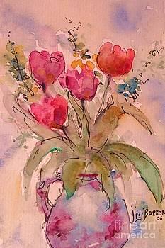 Red Tulips by Jessamine Barron