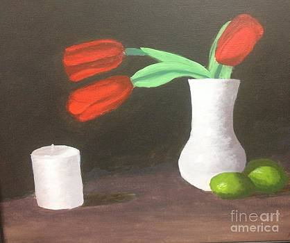 Red Tulips by Michelle Treanor