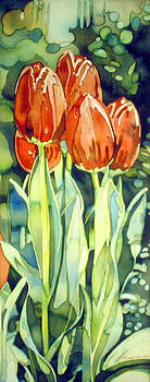 Red Tulips by Tim Mullen