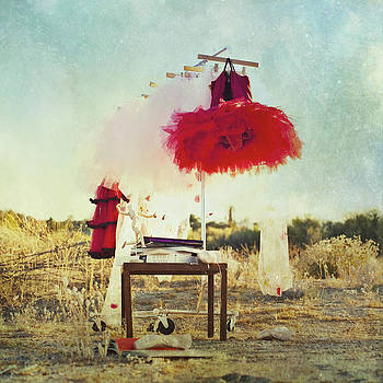 Red Tutu by Whimsy Canvas
