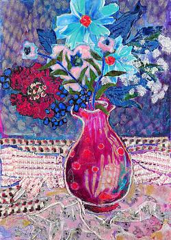 Diane Fine - Red Vase III