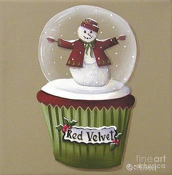Red Velvet Cupcake by Catherine Holman