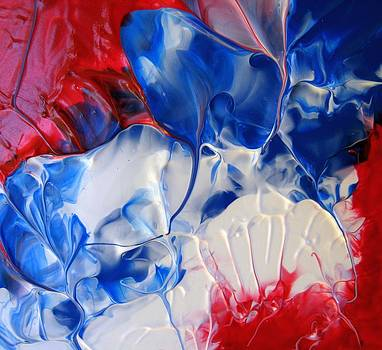 Red White Blue 6 by Sharon Jones