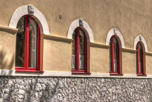 Red Windows by Leonardo Marangi