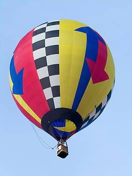 Devinder Sangha - Red Yelloow Blue Balloon