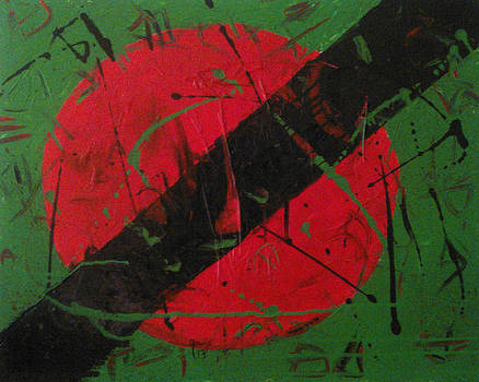 Redblackgreen by Anthony Lewis