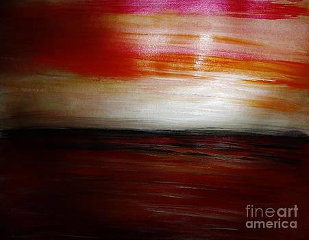 Redd Sky by Marie Bulger