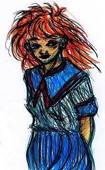 Rachel Scott - Redhead II