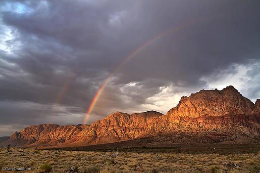 Redrock rainbow by Gary  Drinkhorn