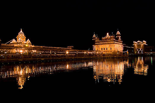 Devinder Sangha - Reflected Golden Temple