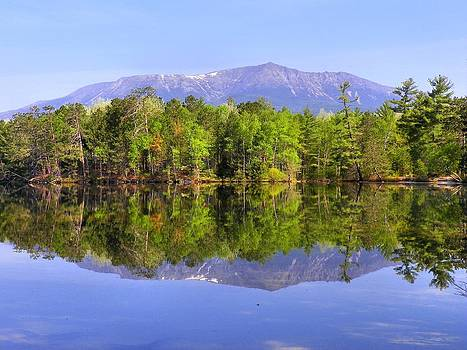 Gene Cyr - Reflected Katahdin