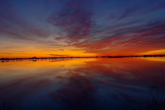 Reflected Sunrise by Robert Geier