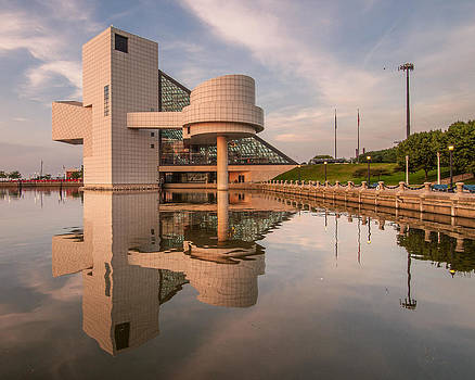 Reflecting on the Rock Hall by At Lands End Photography