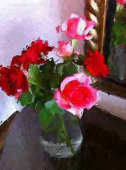 Reflecting Roses by Lyn Pacific