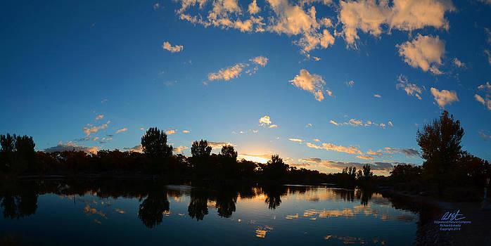 Reflecting Sunrise by Richard Estrada