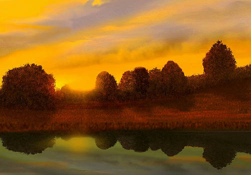 Reflection by John Townes