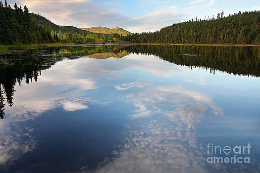 Reflection on the Lake by Guy St-Vincent