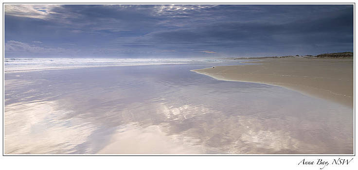 Reflections at Anna Bay by Steve Caldwell