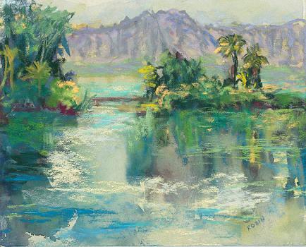Reflections at Coconut Island by Jennifer Robin