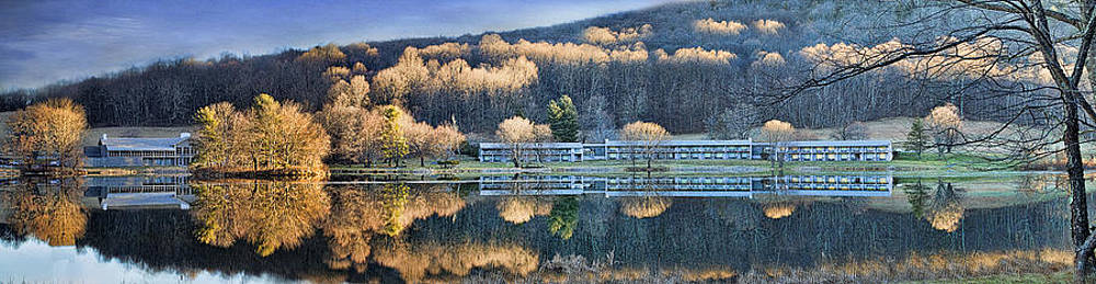 Reflections At The Peaks by Kathy Jennings