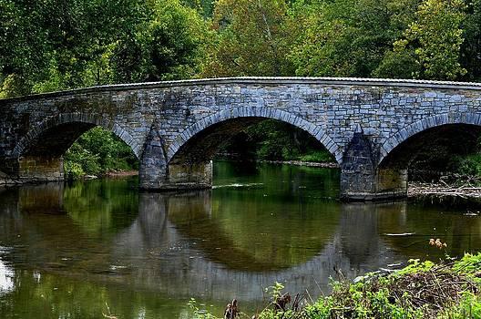 Reflections Burnside Bridge Antietam by William Fox