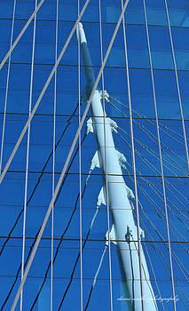 Reflections in Blue by Diana Walker