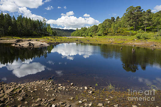 Reflections in Glen Affric by Howard Kennedy