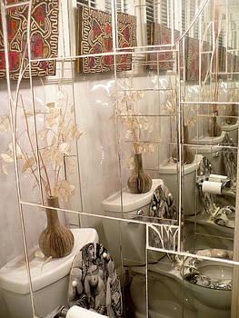 Reflections Little Bathroom by Irmari Nacht