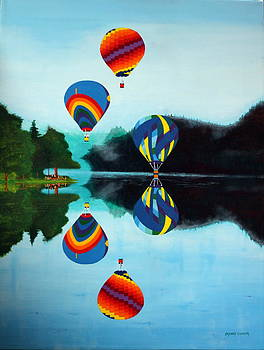 Reflections number five by Robert Crooker