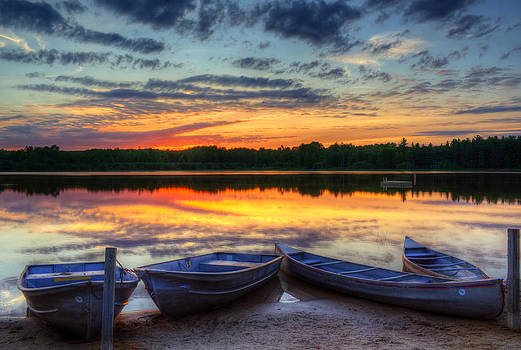 Reflections of Dusk by Megan Noble