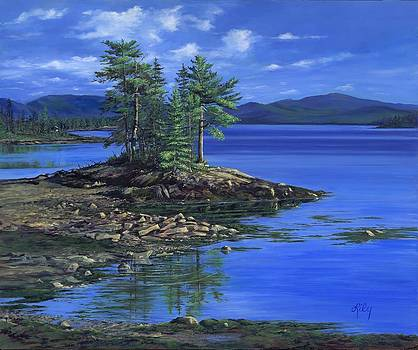 Reflections of Maine by Lily Adamczyk