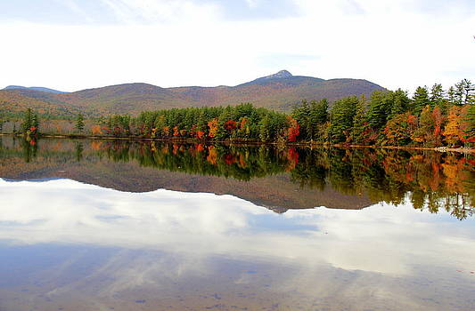 Reflections of Mt. Chocorua by Ellen Ryan