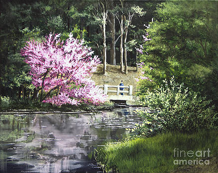 Reflections of Spring by Mary Palmer