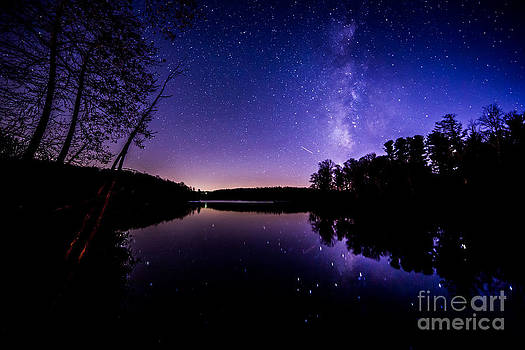 Reflections of The Milky Way by Robert Loe
