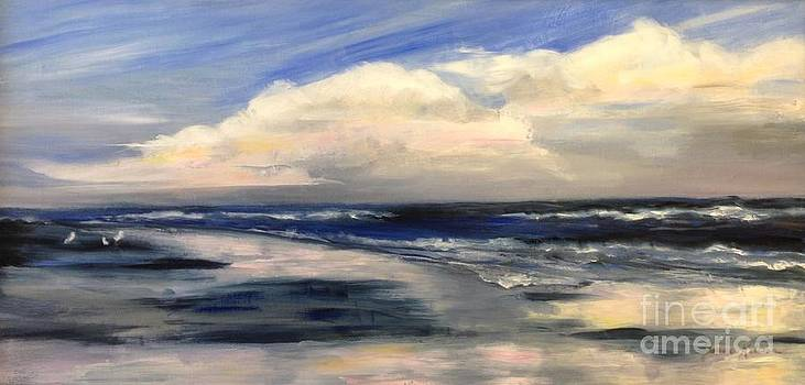 Reflections on the Beach by Joanne Killian