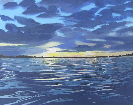 Reflections On The Pamlico by Michelle Young