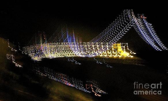Reflective Bay Bridge by Sherry Stone