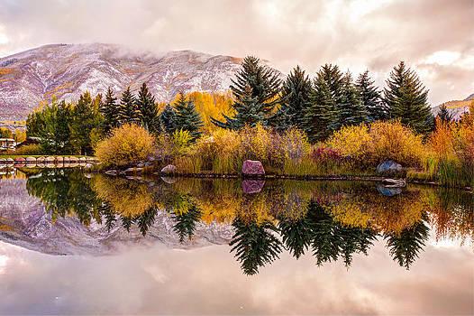 Reflective Morning - Aspen Colorado by Gregory Ballos