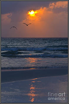 Agus Aldalur - Reflejos rojos del sol