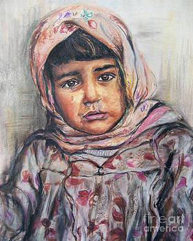 Refugee child by Melanie Alcantara Correia