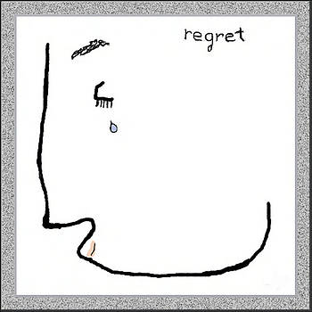 Regret by Mathilde Vhargon