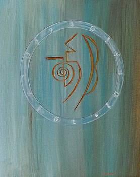 Reiki Symbols - Say Ha Ki by Carolyn Jackson